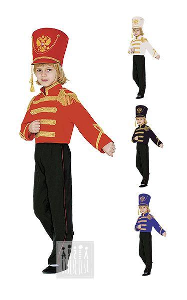Карнавальный костюм Гусар в кителе - комплект для мальчика Гусар в кителе…