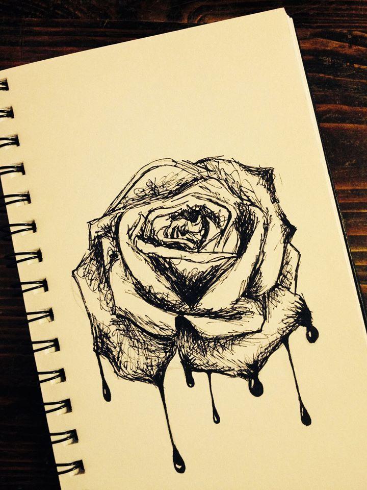 rosa sanguinante... punta dalle sue stesse spine