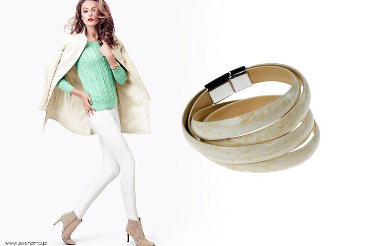 Bądź gotowa na wiosenne szaleństwo! www.beltguys.pl   #jewellery #akcesoria #dodatki #bransoletka #leather #luxury