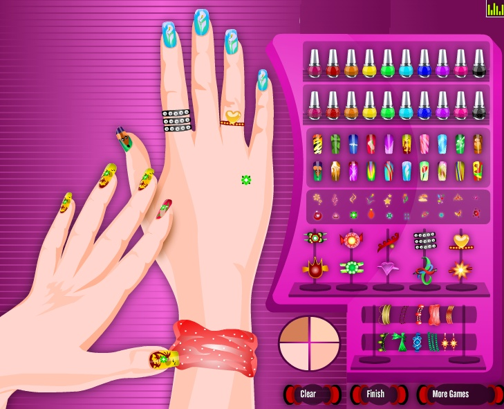 28 best nail design games images on pinterest nail design games pretty colorful nail maker 3 3 3 dressup24h prinsesfo Image collections