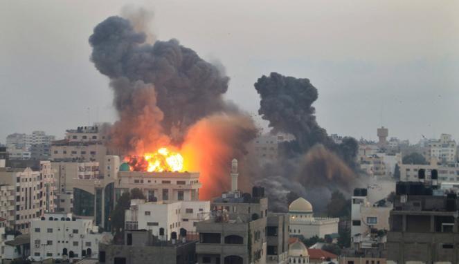 Sejarah Konflik Palestina-Israel di Jalur Gaza