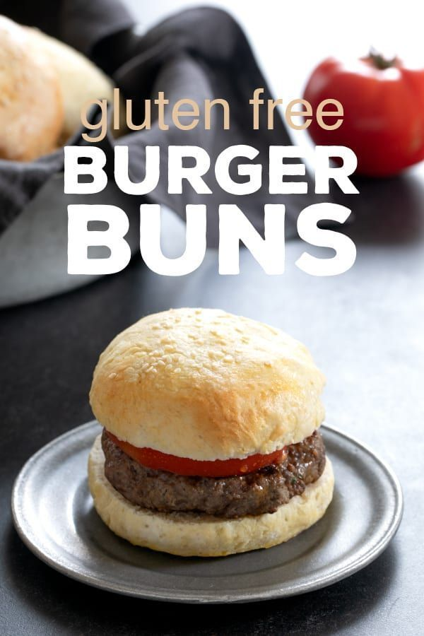 Gluten Free Buns For Hamburgers And Sandwiches Gluten Free Buns Gluten Free Hamburger Buns Best Gluten Free Recipes