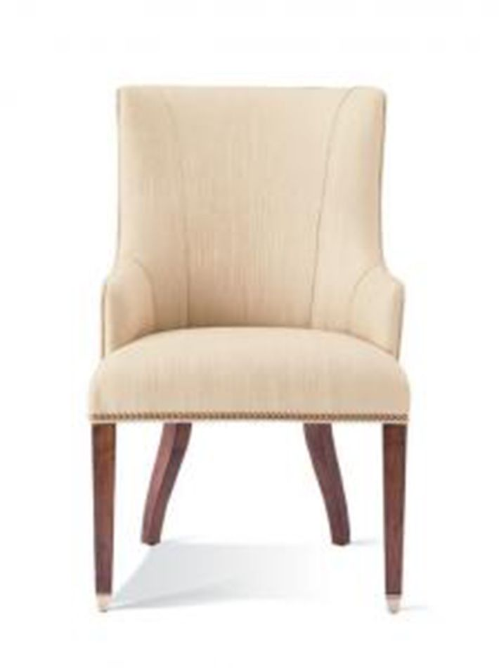 Shop For Hickory White Upholstered Arm Chair, And Other Dining Room Arm  Chairs At Warren Barnett Interiors In Milwaukee And Brookfield, WI.