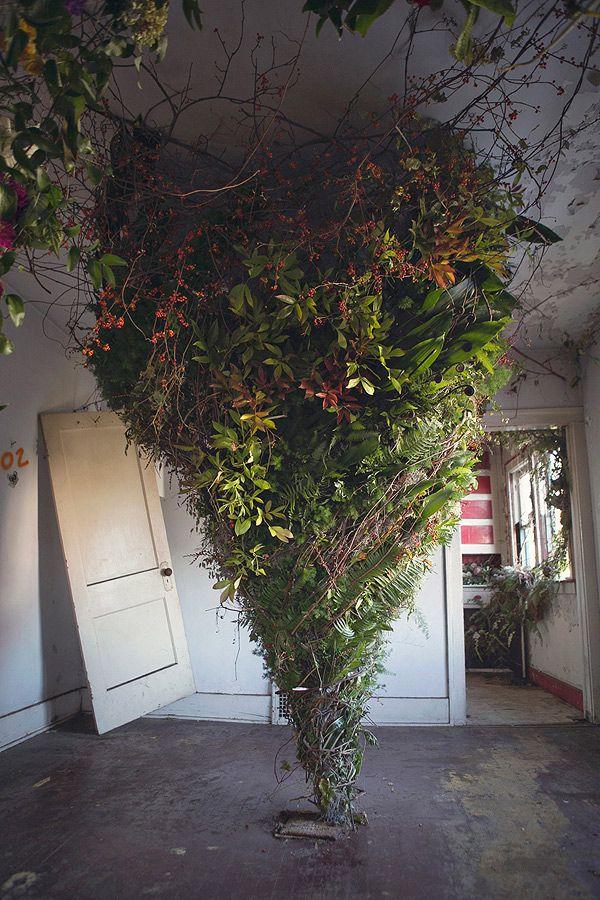 flower house, detroit, october 2015 | Floral designer, Lisa Waud, bought an…