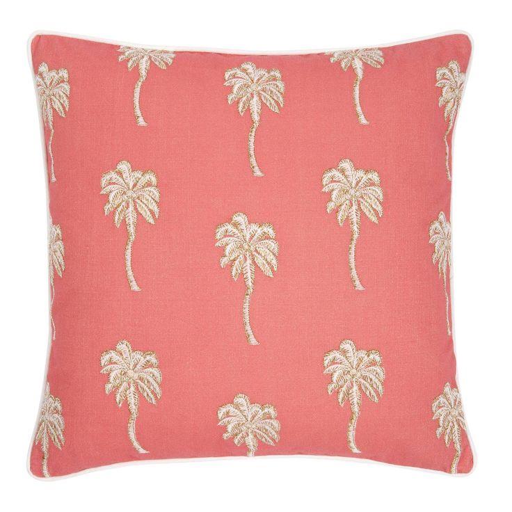 Palmier Coral Cushion