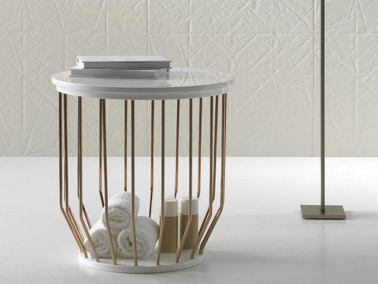 BOWL Bathroom stool by INBANI design Arik Levy