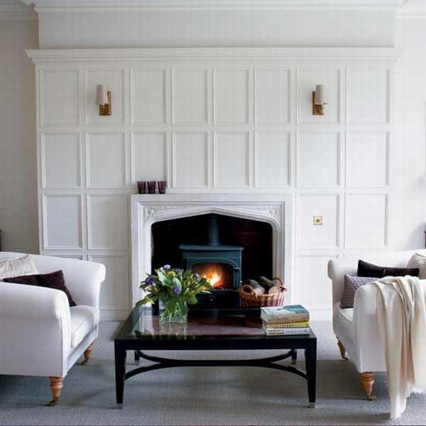 Fireplace Walls 128 best fireplace wall images on pinterest | fireplace ideas