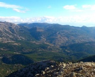 View on Selakano from Dikti mountains