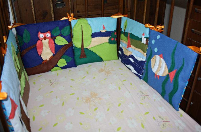 Шьем бортик для детской кроватки - Ярмарка Мастеров - ручная работа, handmade