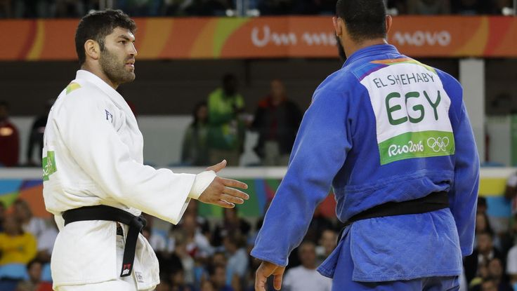 International Judo Federation says the fact that the fight even took place between the two athletes was already a major sign of progress