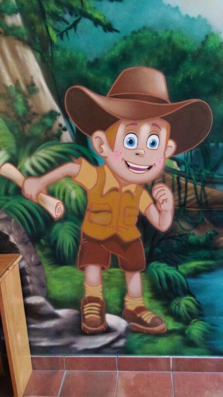 Alojamiento tematico,a 5 min del parque Waren,Personaje de habitacion tematica de la selva, mas info en :volantehostal@gmail.com