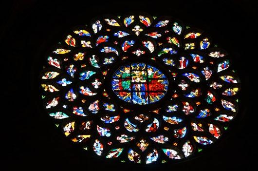 Santa Maria del Mar Rose Window, Barcelona