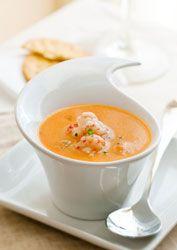 Une idée de petit plat pour les fêtes : une bisque de homard.