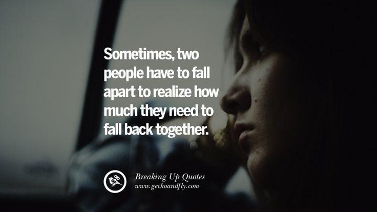 relationship advice break up get back together