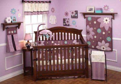 Nojo Plum Dandy Crib Bedding Set