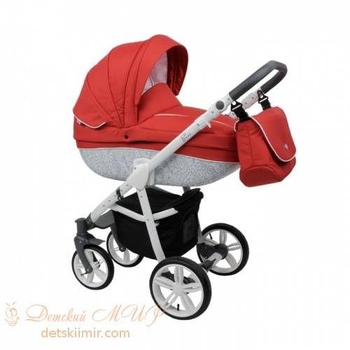 Детская коляска ROAN Bass B2 red  Цена: 300 USD  Артикул: tw5159   Подробнее о товаре на нашем сайте: https://prokids.pro/catalog/kolyaski/kolyaski_2_v_1/kolyaska_roan_bass_b2_red/