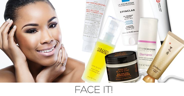 Face It!  Summer time is here! Use these products to put your best complexion forward.