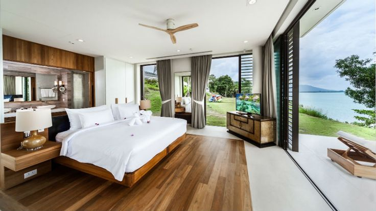 If you had the chance to stay somewhere with an unforgettable view,would you take it? Villa Amarapura.