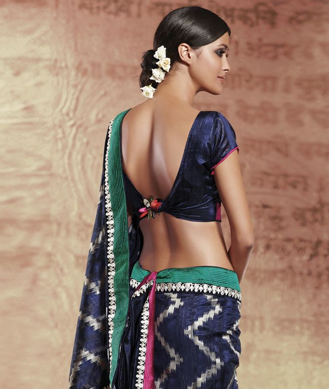 Blue saree #saree #sari #blouse #indian #outfit #shaadi #bridal #fashion #style #desi #designer #wedding #gorgeous #beautiful