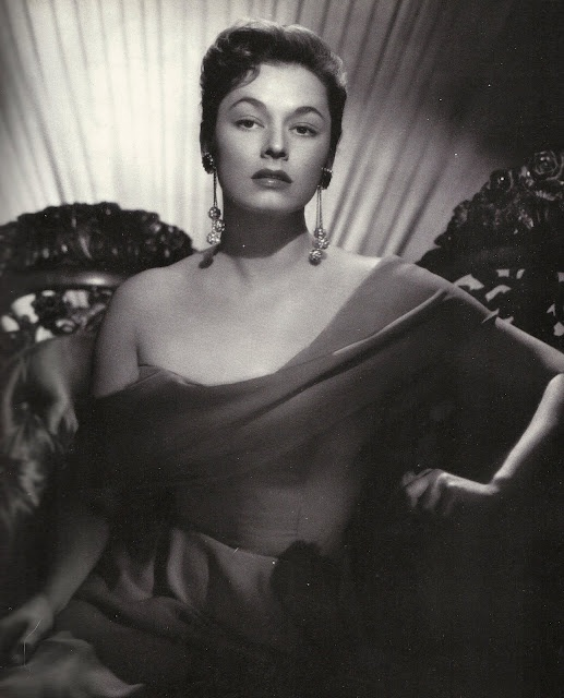 Stunning Lithuanian-American actress Ruth Roman always great as the other woman.