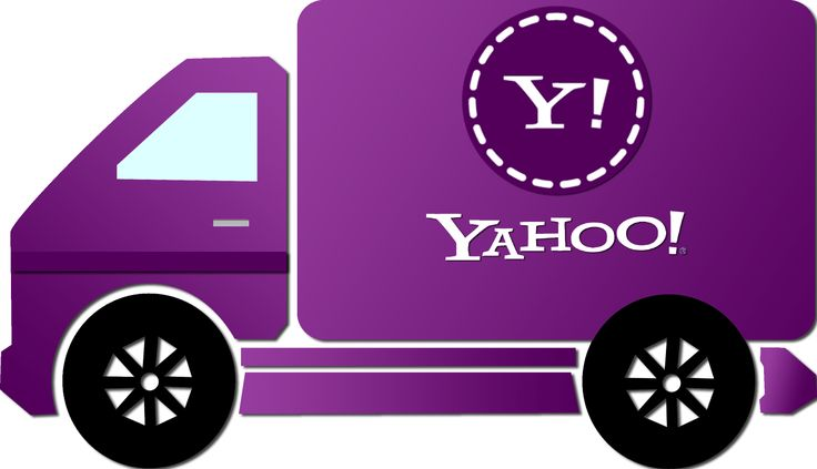 Caminhão Yahoo - Yahoo truck