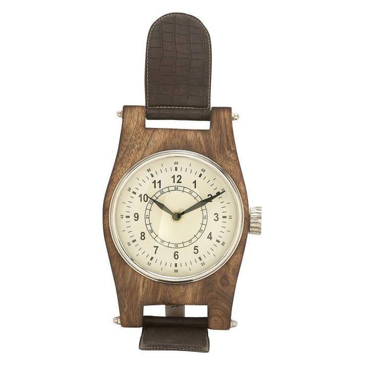 DecMode Attractive Aluminum Desktop Clock - 42458