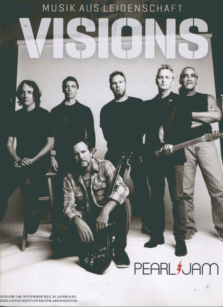 Pearl Jam - VISIONS (D - foto: Danny Clinch)