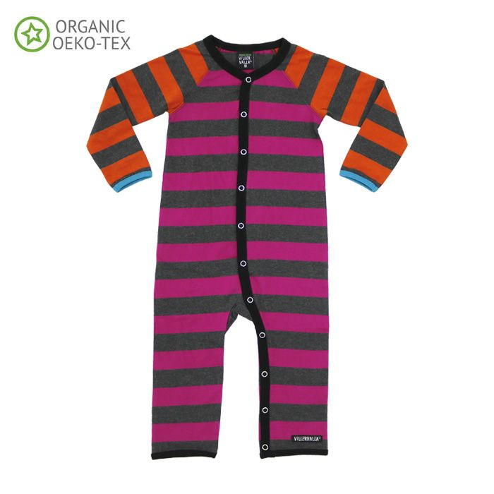 heldress STRIPES CRANBERRY/CARROT