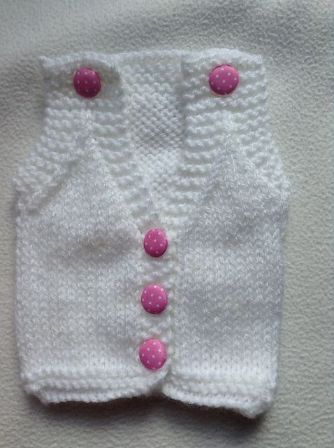 Ravelry: Premature Baby Body Warmer pattern by Donna Dighton-Crookes