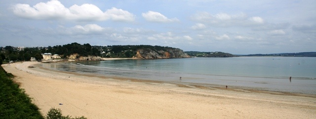 The beach at Morgat on the Crozon Peninsular, Finistere, Brittany