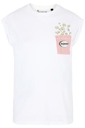 PETITE Popcorn Pocket Tee By Tee and Cake