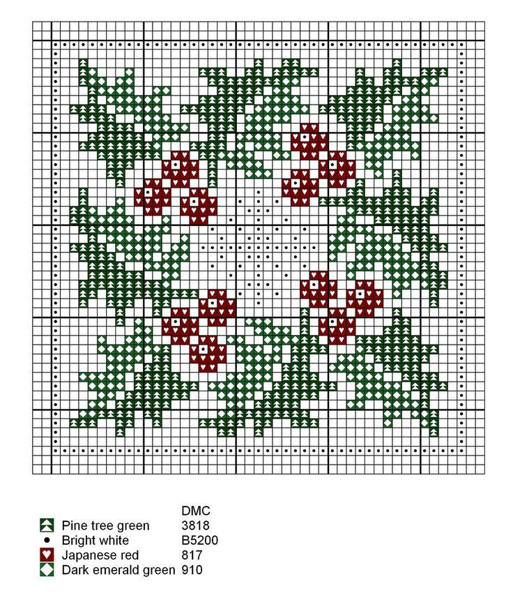 Season Winter cross stitch