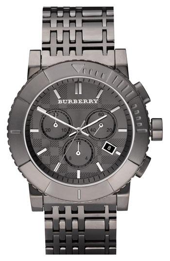 Burberry Round Chronograph Bracelet Watch