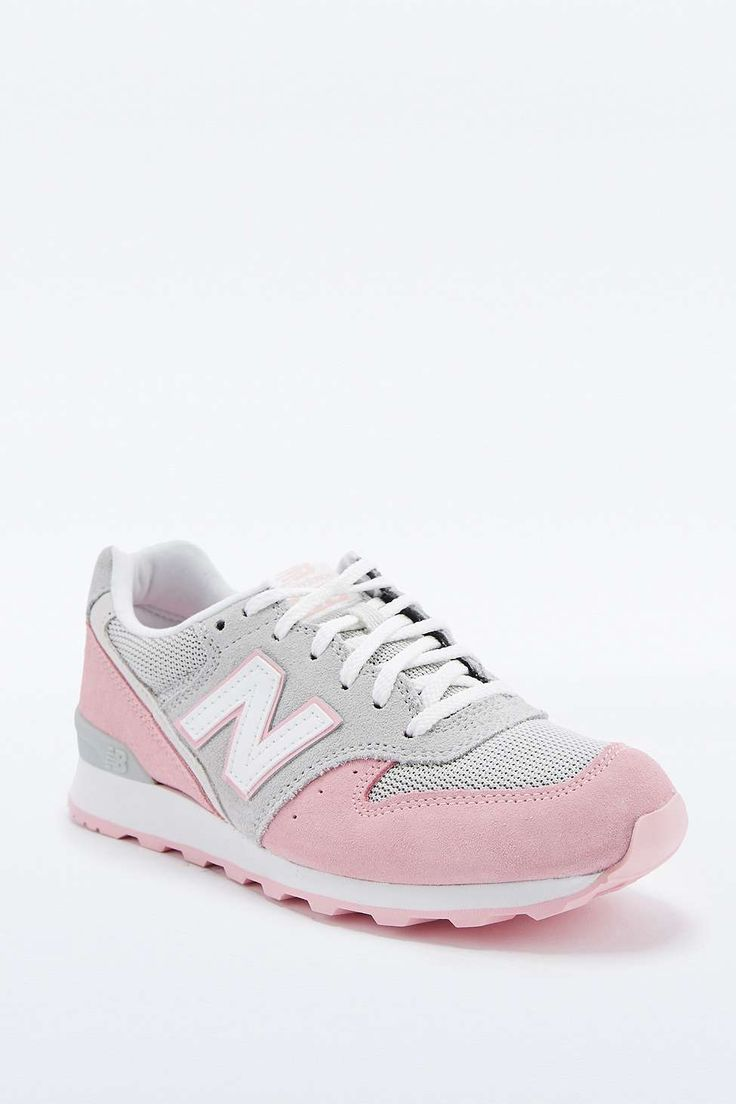 New Balance - Baskets 996 roses