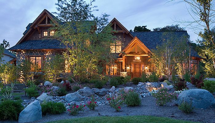 custom cedar log homes luxury cottage floor plans architectural design services town. Black Bedroom Furniture Sets. Home Design Ideas