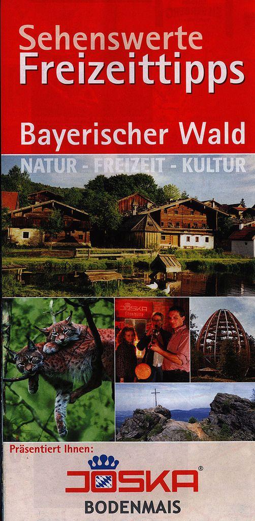 https://flic.kr/p/SYNroD | Sehenswerte Freizeittipps, Bayerischer Wald; Natur-Freizeit-Kultur; 2015_1, map, Ostbayern, Bavaria, Germany
