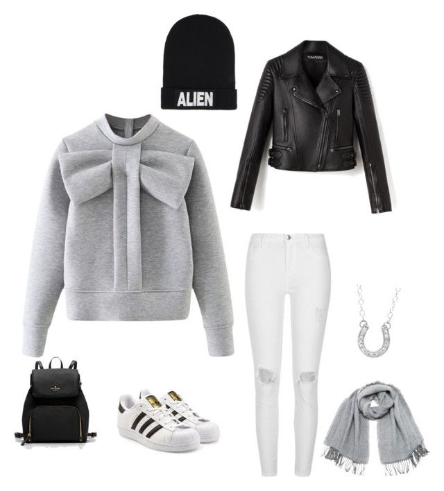 """Untitled #200"" by rekac on Polyvore featuring WithChic, River Island, adidas Originals, Vero Moda, Nicopanda and Kevin Jewelers"