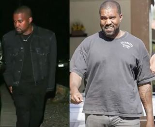 Kanye West Fat? Weight Gain 2017  Did Kanye West gain weight? Yes and people are fat-shaming him on social media. The Life of Pablowas a successful album but Kanye's life has been crazy lately. He's dealing with a lawsuit involving his Saint Pablo Tour and Jay Z revealed that him and the Chicago rapper are no longer on speaking terms.  During an interview with Rap Radar Jay Z explained that him and Kanye needed to talk out their differences. Jay didn't appreciate Kanye talking about Beyonce…