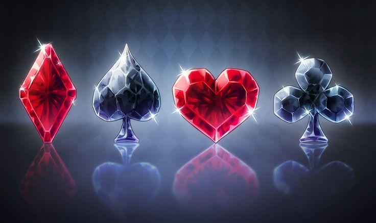 Crystal Card Suit by Pikishi.deviantart.com on @deviantART