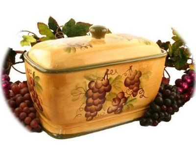 Tuscany, Bread boxes and Canisters on Pinterest