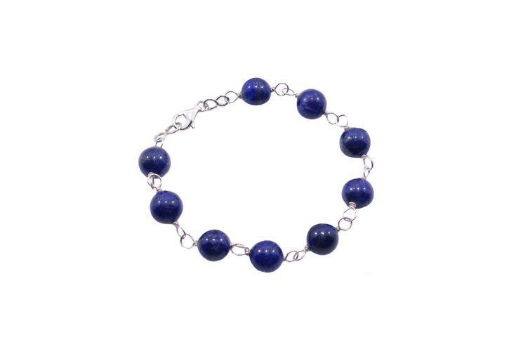 Βραχιόλι με λαπίς λαζούλι - Bracelet with lapis lazuli