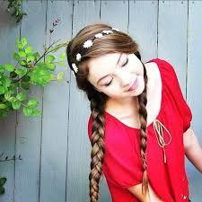 <3 #StilaBabe09 #Red #BraidGirl :)) She is just so PRETTY!