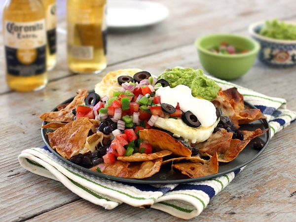 Breakfast Nachos and Early Morning Alcoholic Beverages... These are a ...