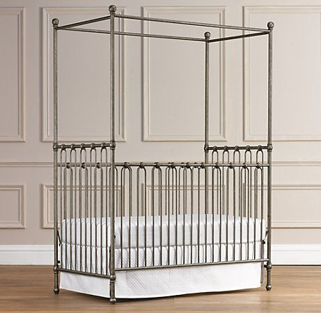 this crib is Awesome!: Little Girls, Irons Cribs, Restoration Hardware, Martin Irons, Canopies Cribs, Google Search, Irons Canopies, Canopies Beds, Baby