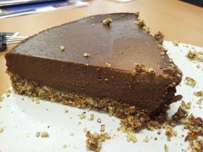 Chunky on Chia: Raw Chocolate Cheesecake