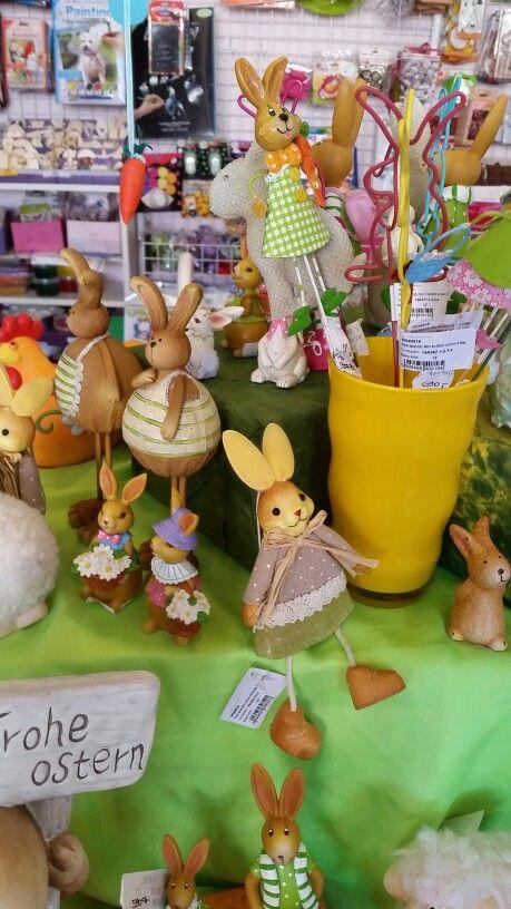 Húsvét dekoràció kreatív hobby diy lakásdekoráció tavasz otthon kerámia nyuszi bari csibe tyúk