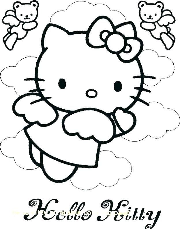 Printable Coloring Pages Hello Kitty Hello Kitty Princess Printable