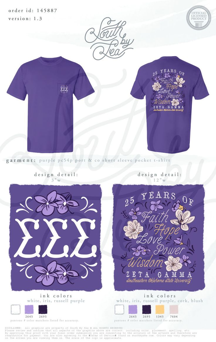 Design t shirt university - Sigma Sigma Sigma 25 Years Of Faith Hope Love Power Wisdom Quotes Floral Design Founders Day South By Sea Greek Tee Shirts Greek Tank Tops