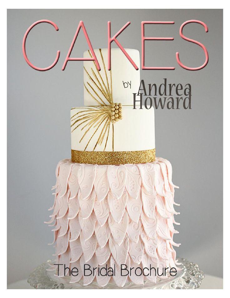 Andrea Howard Cakes The Bridal Brochure