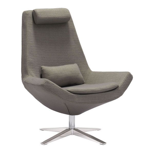 - Info - Features - Dimensions A neo modern shape and futuristic in its appeal, the Starship Lounge Chair adds a bold touch to any space. A lumbar pillow in perfect harmony with the curving back, abov
